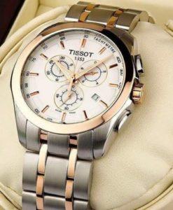 đồng hồ tissot màu vàng đồng