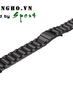Dây đồng hồ kim loại fitbit charge 2 màu đen