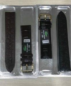 dây da đồng hồ cá sấu nam