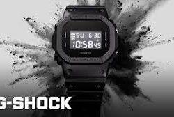 Đồng hồ casio Gshock DW-5600BB-1GDR